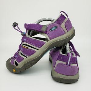 KEEN Newport H2 Big Kids Purple Water Sport Sandal